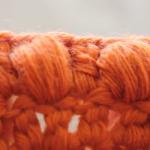 Háčkovaná kostka (puff stitch)