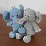 Háčkovaný slon