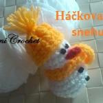 Háčkovaný sněhulák