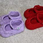 Háčkované sandálky pro děti
