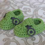Háčkované sandálky pro chlapečky